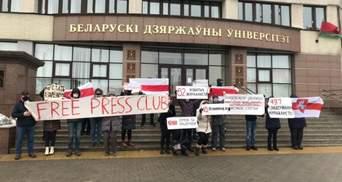 Акции солидарности и прогулки с флагами: протесты в Беларуси 3 января – фото, видео