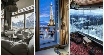 15 готельних номерів з найкращими у світі видами з вікна: атмосферні фото