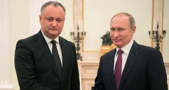 Кремль не собирается соглашаться с независимостью Молдовы, или Додон на поклоне у Пу