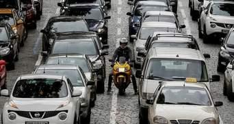 Из-за тумана и количества машин: Киев остановился в пробках – онлайн-карта