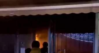 В центре Киева горело помещение Aroma Kava
