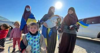 Українських жінок з дітьми евакуювали з сирійського табору: щемливі фото