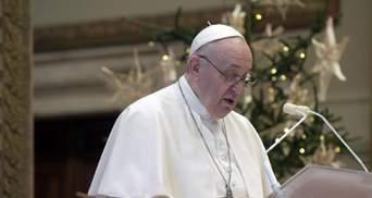 Папа Римський не очолить новорічну месу: причина