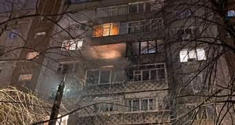 В Николаеве в новогоднюю ночь на балкон залетел фейерверк: загорелись 2 квартиры