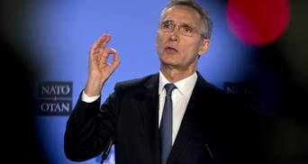 Россия самоутверждается благодаря Украине и Грузии, – Столтенберг