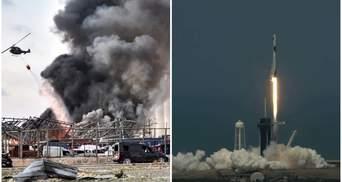 Взрыв в Бейруте и первая частная миссия в космос: события 2020 года, которые запомнит мир