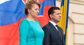 Зеленський привітав Словаччину з національним святом
