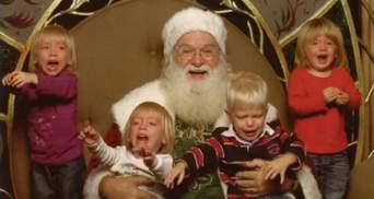 Заберіть мене негайно – підбірка новорічних фотографій дітей, яких налякав Санта-Клаус