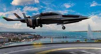 Прототип самолета с вертикальным взлетом испытывают в Швейцарии: впечатляющие фото