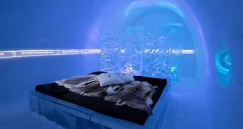Шведський крижаний готель відкрився на зимовий сезон: вражаючі фото унікальних кімнат