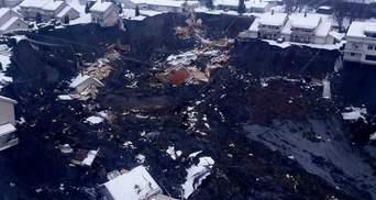 Рятувальники не втрачають надії: у Норвегії знайшли тіла 7 загиблих під час зсуву ґрунту