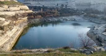 Немає запасів: окупанти вже не викачують воду з озера під Севастополем – фото