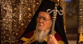 Варфоломій заперечив розкол у православ'ї через автокефалію ПЦУ: каже, що не відступить