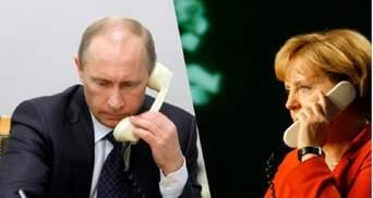 Путин и Меркель снова пообщались по телефону: о чем в этот раз