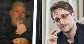 Знаменитих шпигунів Сноудена й Ассанжа висунули на Нобелівську премію миру