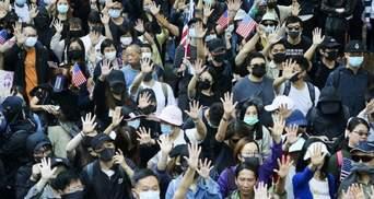Протести у Гонконгу: десятки активістів затримали – серед них є колишні депутати