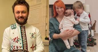 Як українські зірки відзначають Святвечір: атмосферні сімейні фото