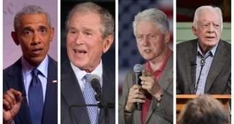 """""""Банановая республика"""": 4 экс-президента США эмоционально осудили беспорядки и действия Трамп"""