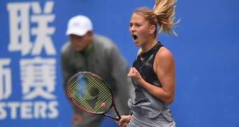 Украинская теннисистка Костюк уверенно преодолела первое соревнование в Абу-Даби