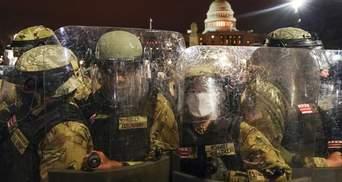Щонайменше 5 тисяч військових Нацгвардії США спрямували до Вашингтона: причина