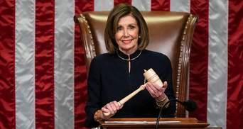 Отстранение или импичмент: спикер Конгресса выдвинула Трампу ультиматум