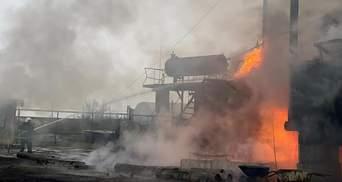 В Николаевской области горела нефтебаза: жуткие фото
