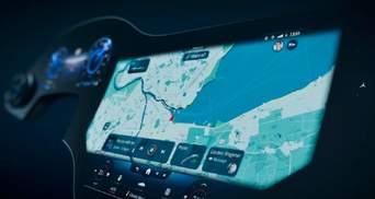 Mercedes-Benz розробила 56-дюймовий сенсорний екран для автомобіля: відео