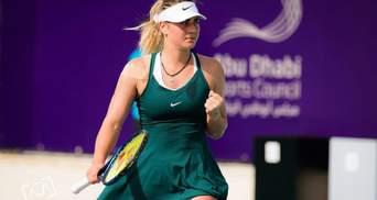 Костюк на характере победила Се в драматичном матче за путевку в 1/8 финала в Абу-Даби