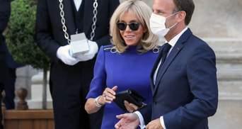 Супруга президента Франции переболела COVID-19