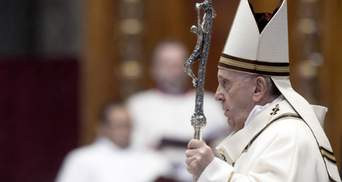 Етичний обов'язок кожного: Папа Римський про необхідність вакцинації проти COVID-19