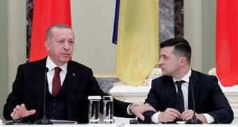 """Эрдоган приветствовал возвращение украинских моряков домой и назвал Зеленского """"дорогим другом"""""""