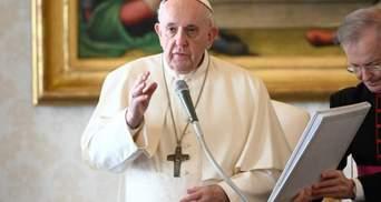Папа Римський висловився про штурм Капітолія: що сказав понтифік