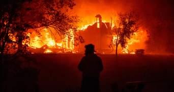 Ціна ураганів та лісових пожеж: скільки збитків завдали США стихійні лиха у 2020