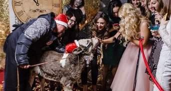 Скандал с теленком на корпоративе партнеров Oriflame в Чернигове: подробности и фото