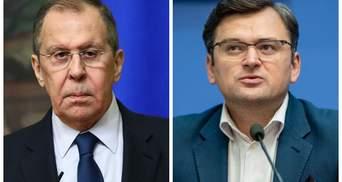 Кулеба о переговорах с Лавровым: Хамства я не заметил