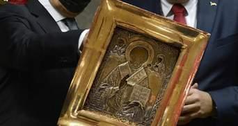 Подаренная Лаврову икона из Донбасса: СМИ обнародовали стоимость и где она хранилась