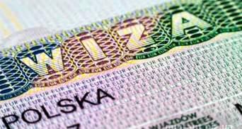 Скільки польських віз отримали українці у 2020 році: деталі