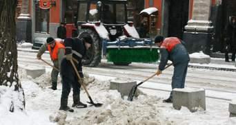 В Украине намело снега: какая ситуация на дорогах