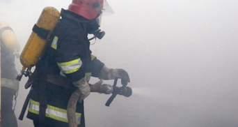 На Львовщине случился разрушительный пожар: мужчина отравился дымом и не мог спастись