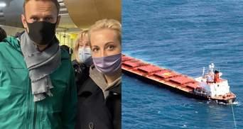 Главные новости 17 января: Навального задержали в России, катастрофа с украинцами в Черном море