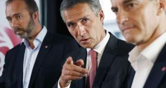 Не Россия будет решать, каким странам вступать в НАТО, – Столтенберг