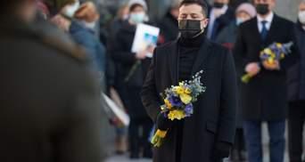Отдали жизнь за независимость Украины: президент почтил память погибших военных – фото