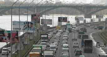 Пробки в Киеве 21 января: куда не стоит ехать утром