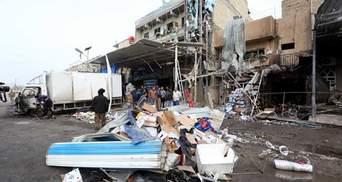 Теракт на рынке в Багдаде: по меньшей мере 20 погибших – ужасное видео взрыва 18+