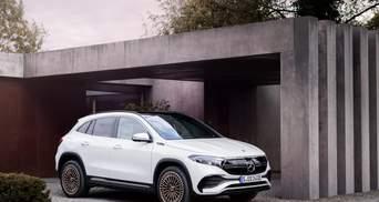 Mercedes-Benz показала новый электрический внедорожник EQA: фото, цена