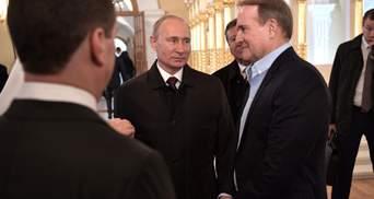 Корисливий обмін полоненими: як Путіна піарить Медведчука