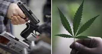 Легализация оружия и марихуаны в Украине: глава Нацполиции Клименко назвал подводные камни