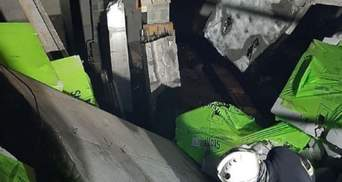 В Киеве обвалились строительные конструкции: под завалами оказались рабочие – фото