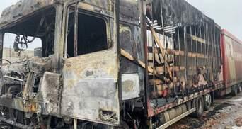 На Харьковщине водитель заживо сгорел в грузовике: детали трагедии, фото