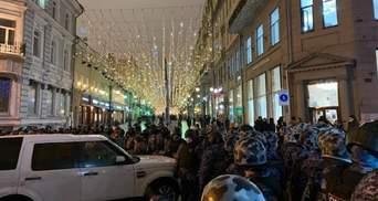 Мерія Москви стверджує, що серед протестувальників є багато хворих на COVID-19
